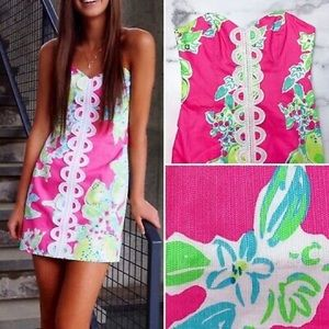Lilly Pulitzer Angela Embroidered strapless Dress